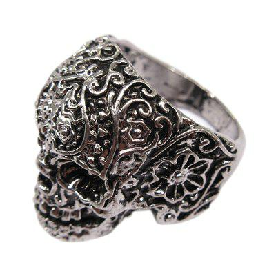 New Fashionable Men's Personality Titanium Steel Ring