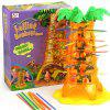 Parent-child Interactive Board Game Skip Monkey Falling Fancy Interesting To - BRIGHT YELLOW