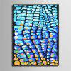Special Design Frameless Paintings Arrangement Print - CRYSTAL BLUE