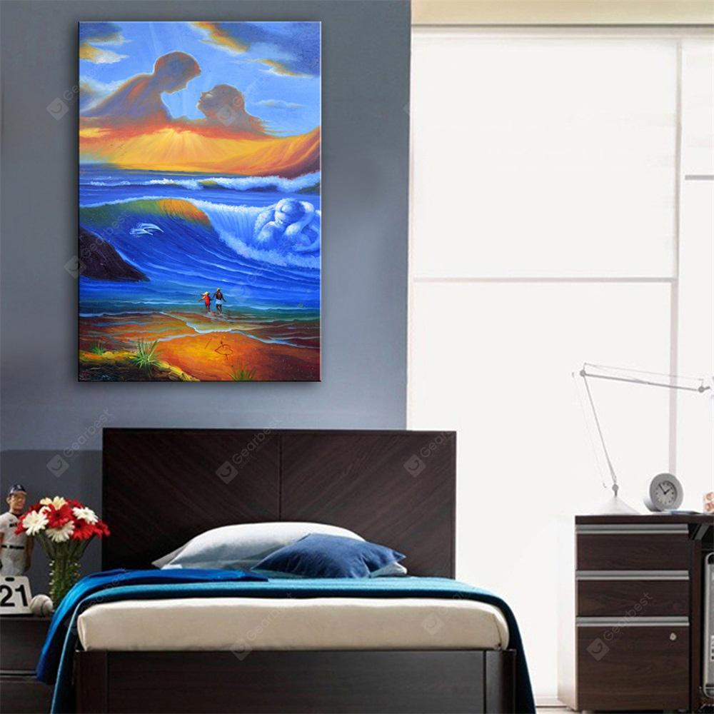 Special Design Frameless Paintings Love of Heaven Print