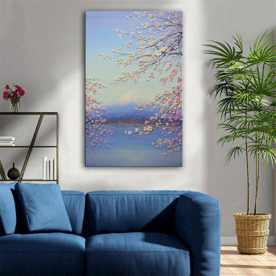 Special Design Frameless Paintings Mount Fuji Print