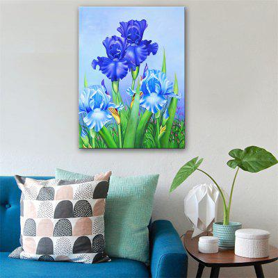 Special Design Frameless Paintings Charm of Blue Print