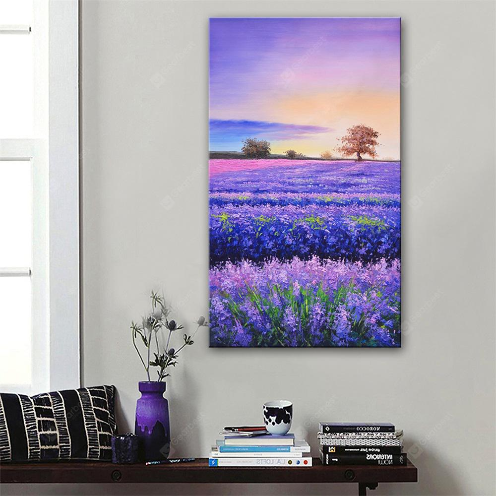 Special Design Frameless Paintings Lavender Print