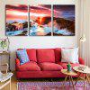 Special Design Frameless Paintings Basin Print 3PCS - MULTI