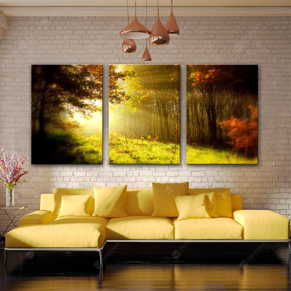 Special Design Frameless Paintings Sun Print 3PCS