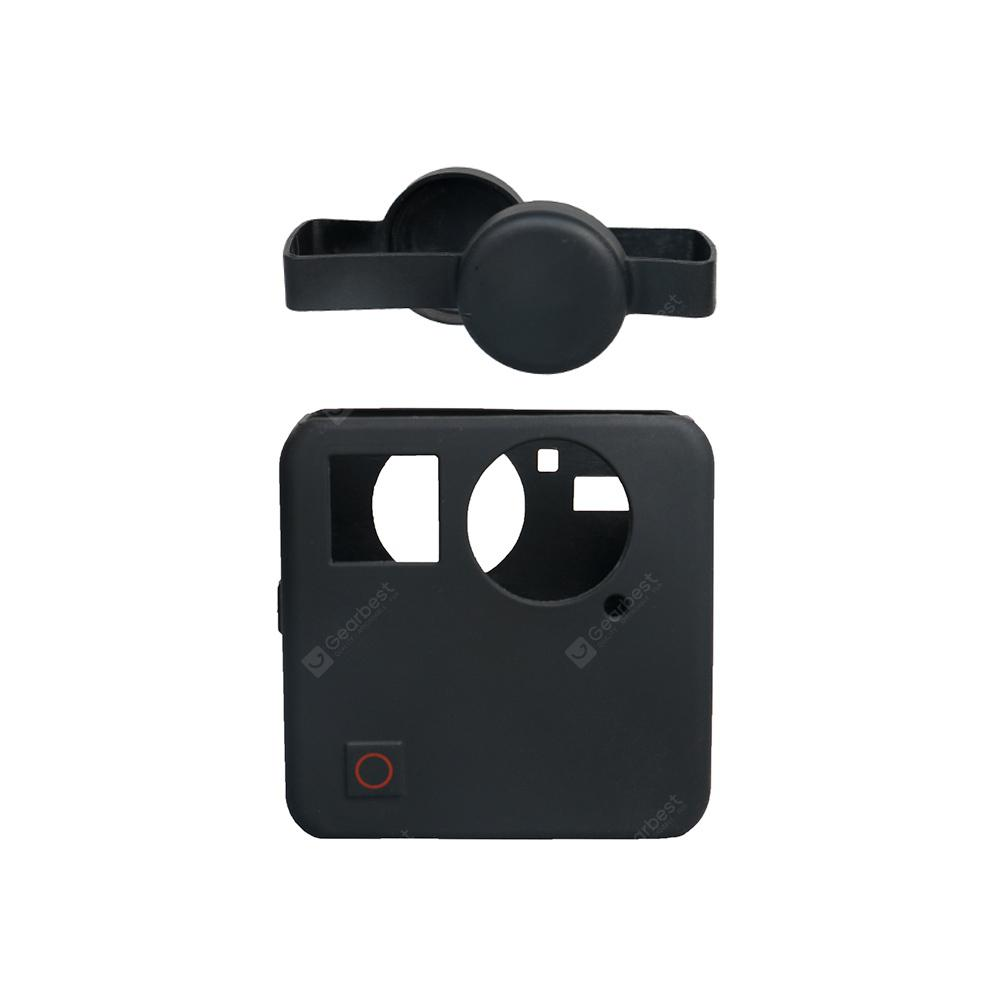 Soft Silicone Camera Protective Cover With Lens Cap for Gopro Fusion Camera