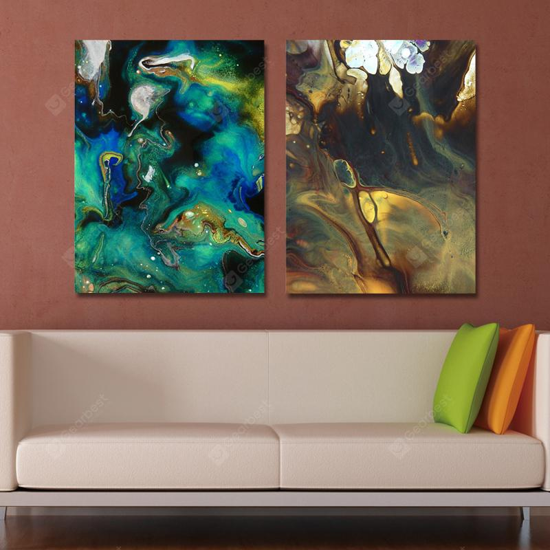 MY43-CX - 77-138 Fashion Abstract Print Art Ready to Hang Paintings 2PCS
