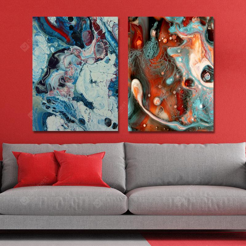 MY43-CX - 106-127 Fashion Abstract Print Art Ready to Hang Paintings 2PCS