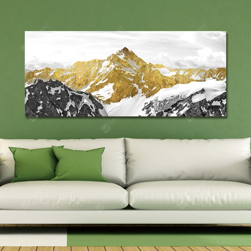MY43-XDZS - 109 Photography The Snow Mountain Scenery Print Art