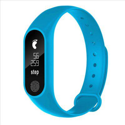M2 Waterproof Fitness Smart Bracelet Heart Rate Monitor for iPhone Android Image