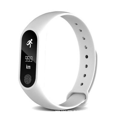M2 Pulsera Inteligente Aptitud Impermeable Monitor de Pulso Cardiaco para iPhone Android