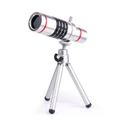 12X Optical Zoom Telescope Mobile Phone Lens for  iPhone 7 7 Plus with Min