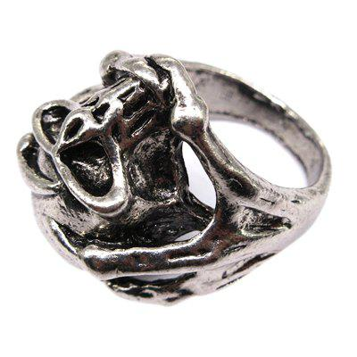 Creative Personality Punk Wind Claw Titanium Steel Ring Jewelry