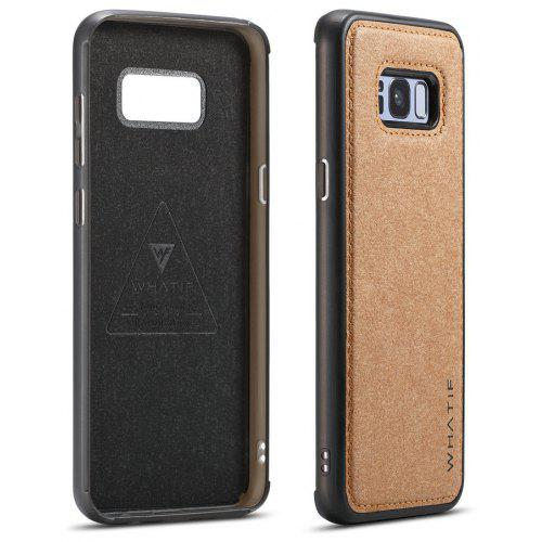 new concept 43fc0 87344 WHATIF for Samsung Galaxy S8 Plus DIY Personality Kraft Paper Phone Case  Cover