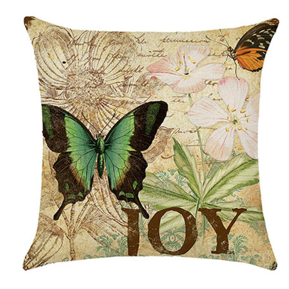Lovely Butterfly Pillow Cover
