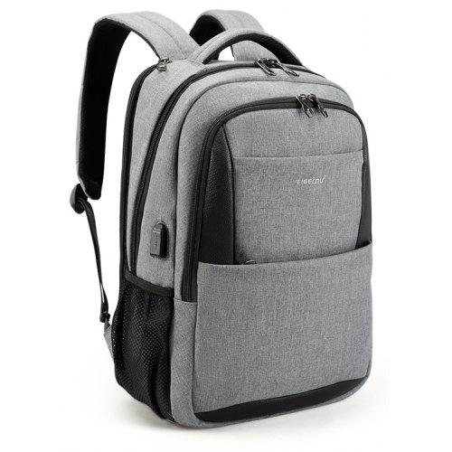 7b8f18a8cb9f 2018 Tigernu Brand New Design Male Mochila 15.6 Anti-theft laptop backpack  USB Charging Backpack waterproof Schoolbag