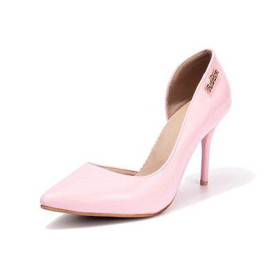 Leisure Shoes All-Match High-heeled Shoes