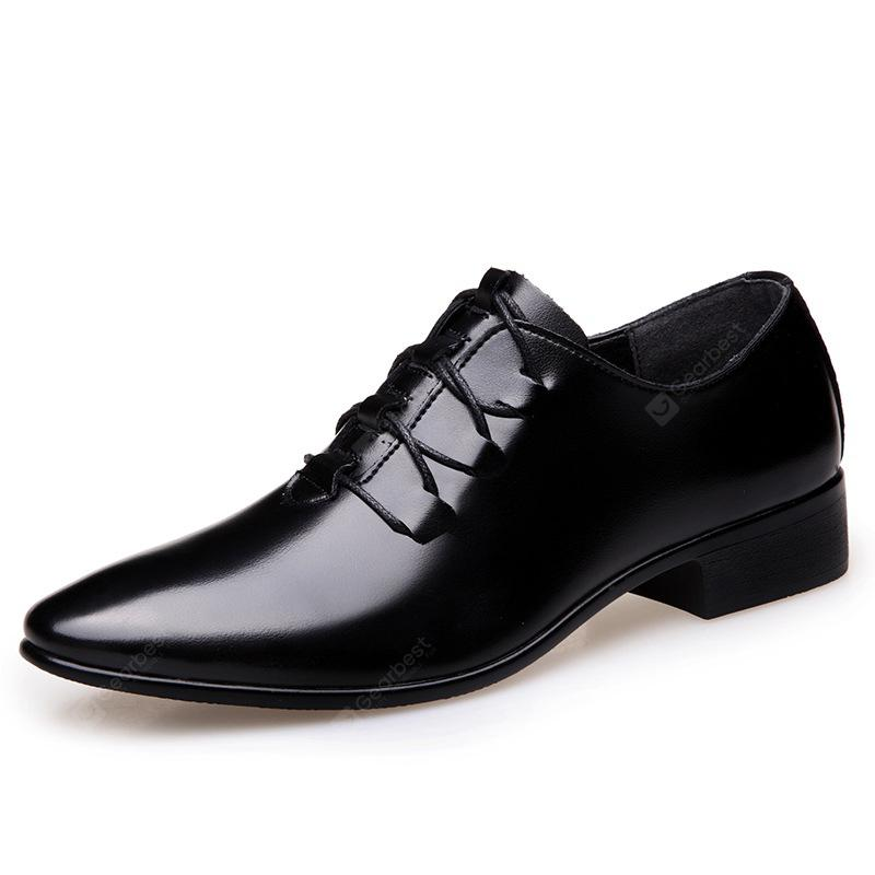 Men Classic Pointed Toe Casual Business Leather Shoes genuine sale online clearance good selling Y9qmpOVe