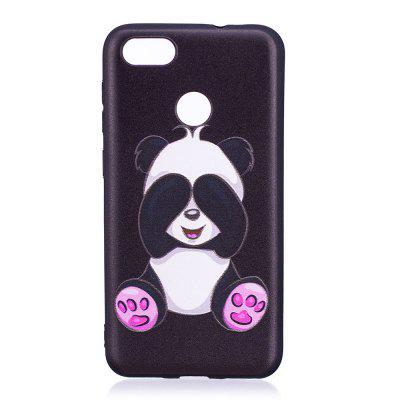 Relief TPU Case for Huawei P9 Lite Mini / Y6 Pro 2017 Panda Pattern