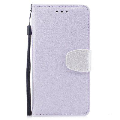 Stand Flip Full Body Cases Solid Color Pu+Tpu Leather for iPhone X