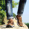 Sports Casual Mesh Breathable Climbing Men Shoes - LIGHT BROWN