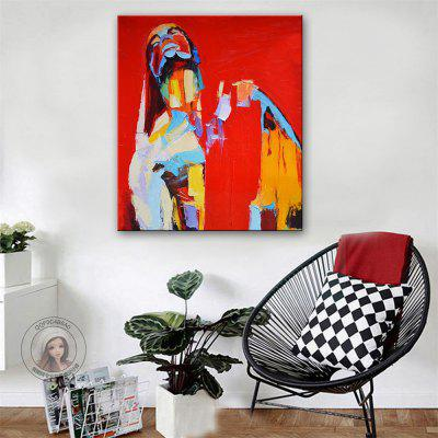 Special Design Frameless Paintings Looking Up Print