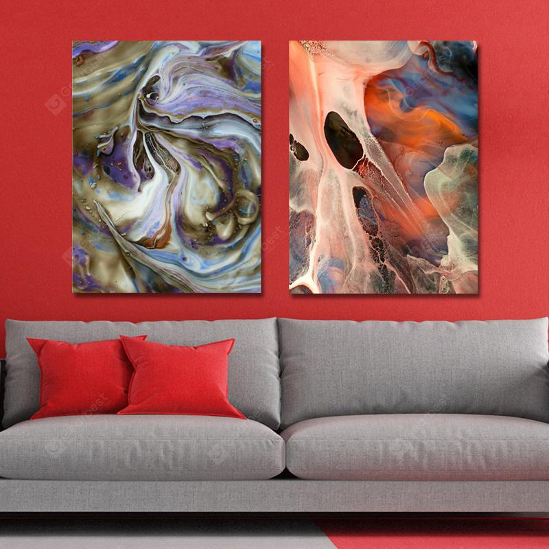 MY43-CX - 158-175 2PCS Fashion Abstract Print Art