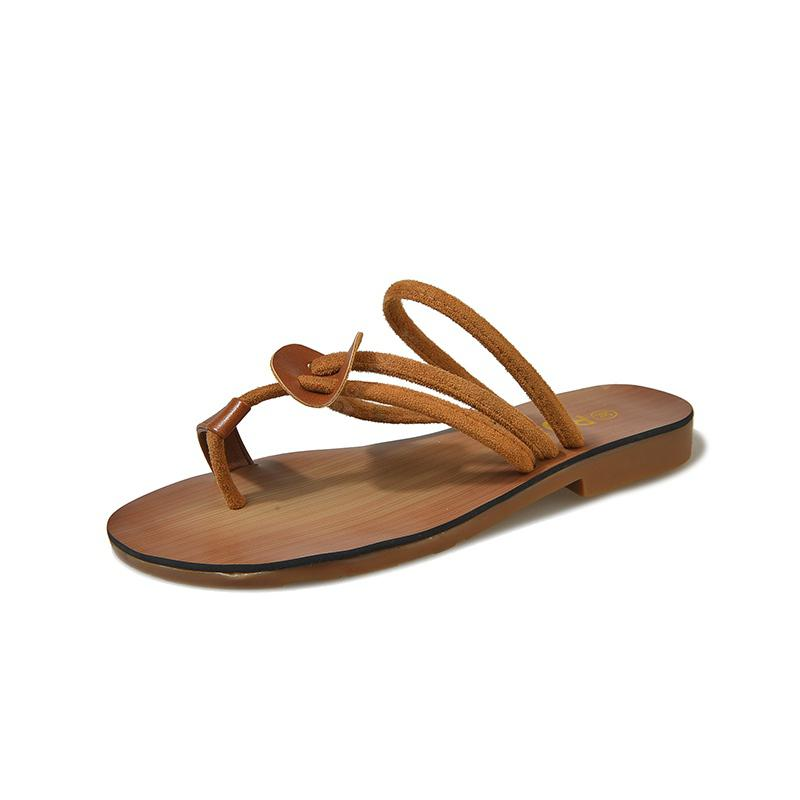 Fashion Two Wear Flat Bottomed Slippers