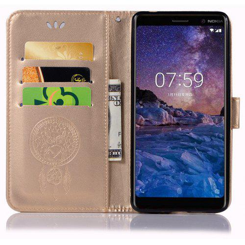 outlet store ac939 780af Owl Campanula Fashion Wallet Cover For Nokia 7 Plus Case PU Flip Leather  Case