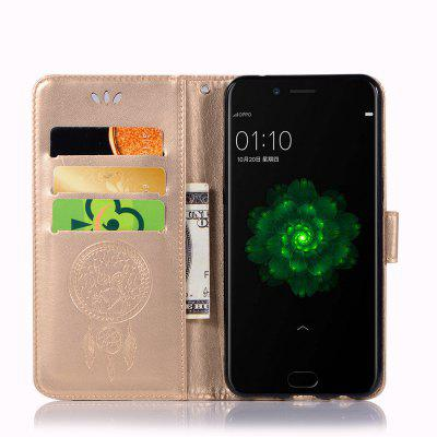 Owl Campanula Fashion Wallet Cover For OPPO R9s Case PU Luxury Flip Leather Case