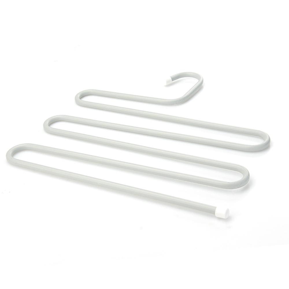 Stainless Steel Multi-Layer S-Type Trousers Rack