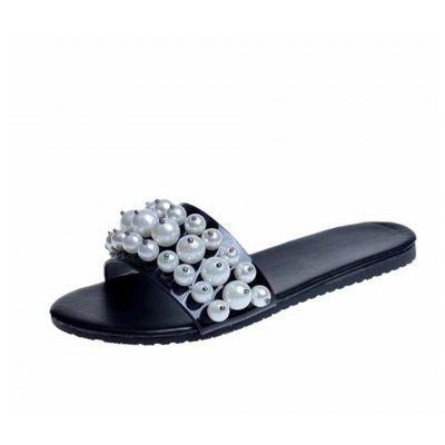 The New Cool Drag Girl Pearl Big Toe Slipper Girl