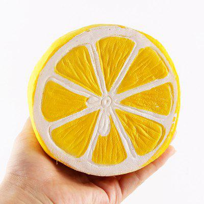 Slow Back Half Jumbo Squishy Little Lemon Toy