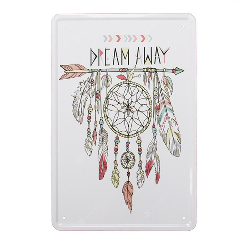 Dreamcatcher Pattern Metal Painting for Wall Decor
