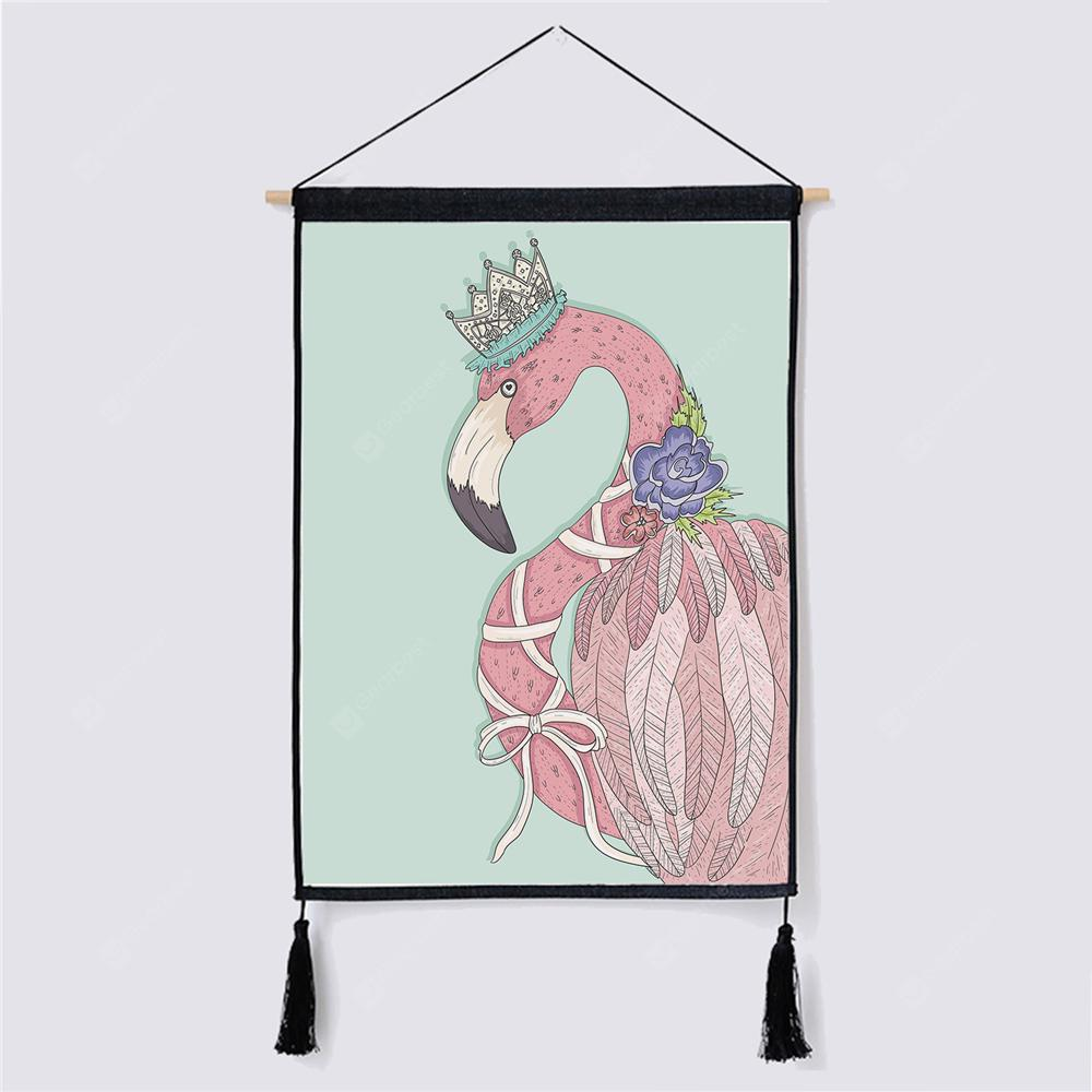 Cute Pattern Fabric Hanging Painting for Wall Decor