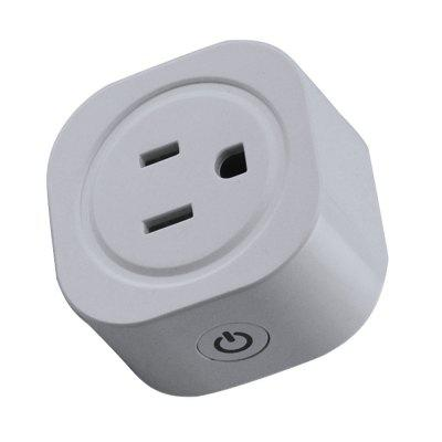 JIAWEN Smart Home WiFi Socket APP Wireless Control US Plug Timing