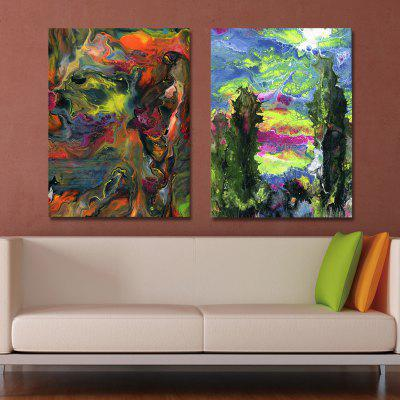 MY43-CX - 235-247 2PCS Fashion Abstract Print Art