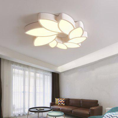 Modern LED Creative Geometric  Acrylic Ceiling  Lamp Floral Shape for  Bedroom