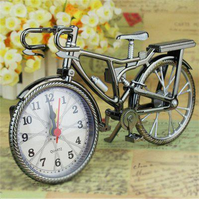 Vintage Arabic Numerale Retro Biciclete Model Creative Ceas cu alarmă Home Decor