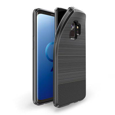 for Samsung S9  Magnetic Car  Rotating Ring Kickstand Hard Cover