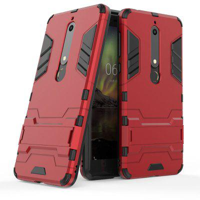 Armor Case for Nokia 6 2018 Shockproof Protection Cover
