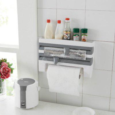 Kitchen Storage Multifunctional Wall Mounted Paper Towel  Rack
