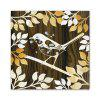 W106 Bird and Butterfly  Unframed Wall Canvas Prints for Home Decorations 2 PCS - MULTI-A