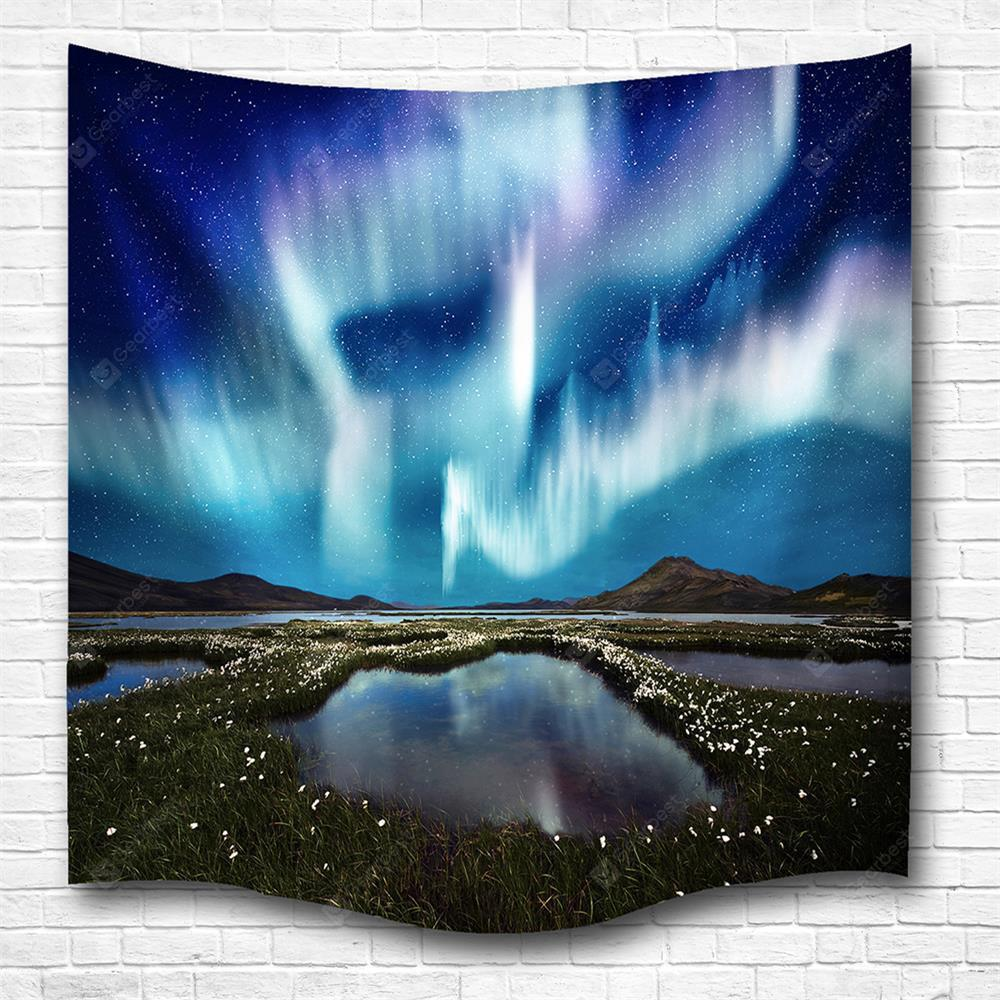 The Aurora 3D Printing Home Wall Hanging Tapestry for Decoration