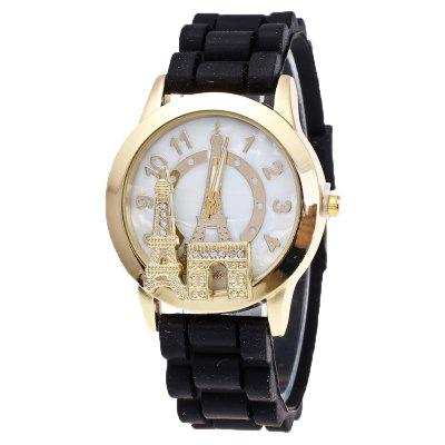 Fashion Tower Silicone Watch