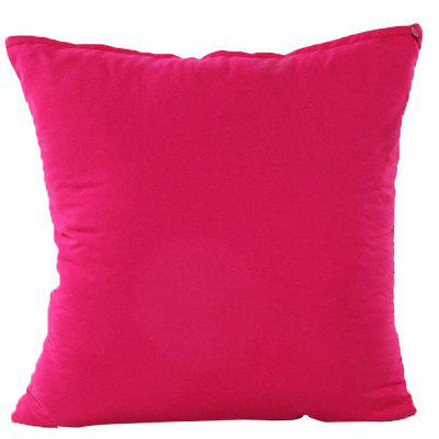 Simple And Pure Color Pillowcase
