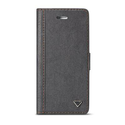 WHATIF per iPhone 6 / 6S Flip 2 in 1 FAI DA TE Flip Wallet Phone Case con copertura TPU per PC