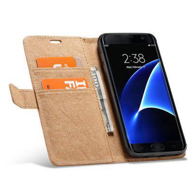 WHATIF for Samsung Galaxy S7 Edge Flip Wallet Detachable Phone Case DIY Feature