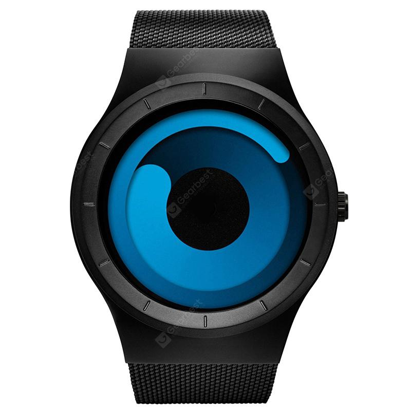Sinobi 9659 Creative Concept Swirl Sport Waterproof Quartz Men's Watch