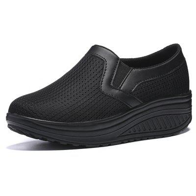 Thick-Soled Breathable Lightweight Rocking Shoes
